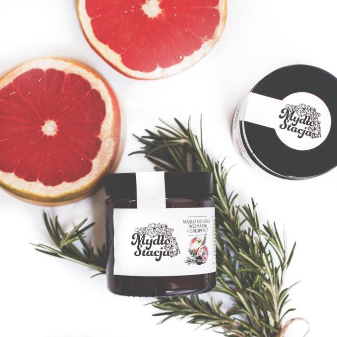 MydłoStacja - Masło Rozmaryn i Grejpfrut 120 ml